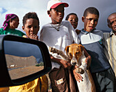 Children and Dog, Sao Vicente Cape Verde