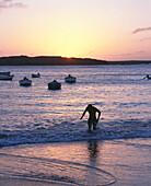 Evening at the beach, Sal Rei, Boa Vista, Cape Verde