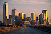 Cityscape of Dallas, Downtown Dallas, Texas, USA