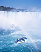 Niagara Falls trip, Maid of the Mist, Canada / USA