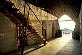 Eco Architecture, Nature Reserve, Chumbe Island, Zanzibar, Tanzania