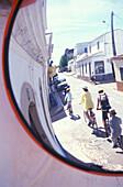 Mirror of street, Santa Catarina Tavira, Algarve, Portugal