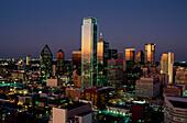 Skyline, Dallas, Texas USA