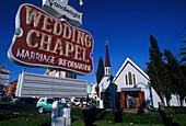 Heiratskapelle am Strip, Las Vegas Nevada, USA
