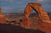 Delicate Arch, Arches Nat. Park, Utah, USA Amerika