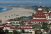 Coronado Hotel, Coronado Beach, San Diego Kalifornien, USA, Amerika