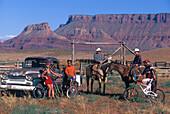 MTB und Cowboys, Utah, USA Sports