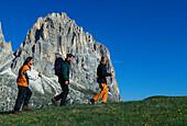 Wandern, Dolomiten, Italien