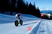 Mountainbike, Rennen, Fahrer, Speed King R. Weissensteiner, Germany
