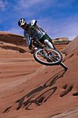 Mountainbiking, Moab Utah, USA