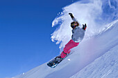 Snowboarder in Action, Sport Release on application