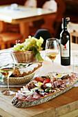 Traditional light meal , Traditional light meal in Styria, Austria, Traditional food , Styria, Austria , Light meal Styria, Austria Tradition