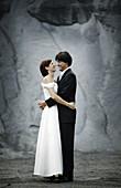 Wedding Couple, Wedding Couple, Hugging wedding couple, People Wedding