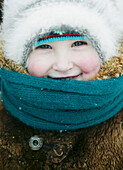Laughing child, Omsk, Siberia