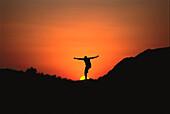Woman, Jump, South Afrika