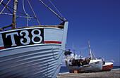 Fishingboats, Lild Beach, Juetland Denmark