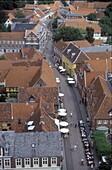 City view, Ribe, Juetland Denmark