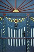 Detail of a door, Ribe, Juetland Denmark