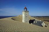 Lighthouse, Rubjerg Knude, Juetland Denmark