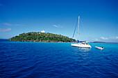 Moorings Charter Yacht, Langstau Insel, Vava´u Tonga