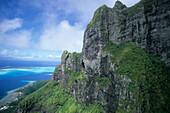 Aerial Photo, Bora Bora French Polynesia