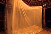 Mosquito Net, Vaotuua Beach Fales Manono Island, Samoa