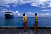 Lady Samoa II, Mulifanua Wharf Upolu, Samoa