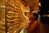 Gold Schmuck, Dubai Vereinigte Arabische Emirate