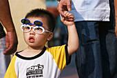 Boy with cool glasses, Taipa Island Macao, China