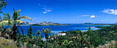 View from Hill above Turtle Island Resort, Turtle Island, Yasawa Islands Group, Fiji, South Pacific