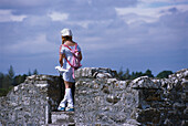 Fashionable Japanese Girl, Clonmacnoise, Co. Offaly Ireland