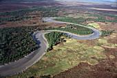 Aerial View, East Alligator River, Kakadu NP NT, Australia