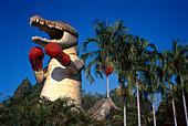 Giant Boxing Crocodil, Humpty Doo, Northern Territory, Australia