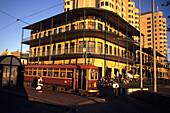 Glenelg Tram & Grand Hotel Glenelg, Adelaide SA, Australia