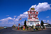 Truck Stop, Van Horn, Texas USA