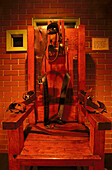 Electric Chair 'Old Sparky', Huntsville Prison Museum, Texas, USA
