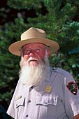 Ranger Ennis Kelley, Rocky Mountain National Park, Colorado, USA