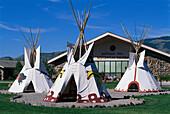 Tipis, Buffalo Bill Historical Centre, Wyoming USA