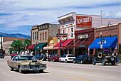 Cody Nite Rodeo Car, Cody, Wyoming USA