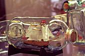 Impossible bottle, ship in bottle, Flaske-Peters Samling Collection, Aeroskobing, Aero, Denmark