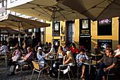 Nyhavn Outdoor Cafés, Copenhagen, Denmark