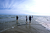 Grenen, the northmost tip of Jutland, where the North sea, Skagerrak meets Kattegat, Near Skagen, Northern Jutland, Denmark
