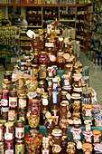 Greek Food Specialty Shop, Plaka, the oldest historical area of Athens, Athens, Greece