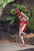 Aborigine, Tjapukai Dance Theatre, near Cairns Queensland, Australia