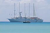 Club Med. 1, Segelschiff, Karibik Kreuzfahrt Karibik