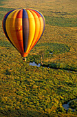 Hot-air ballon ride, Masai Mara National Park, Kenia, Africa