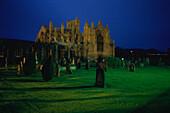 Melrose Abbey, Borders, Schottland Großbritannien