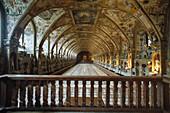 The Hall of Antiquities, Antiquarium in the Munich Residenz, Munich, Bavaria, Germany