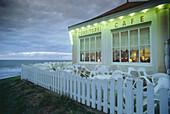 Café Marienhoehe at the coast of Norderney, Eastern Frisia, Lower Saxony, Germany