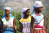 Junge Frauen, Santiago Kapverdische Inseln